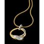 18 karaat Gouden Hanger met Briljant Nona 92563