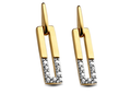 18 karaat gouden oorbellen Cara C607