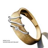 18 karaat Gouden Ring met Briljant Nona 91739_