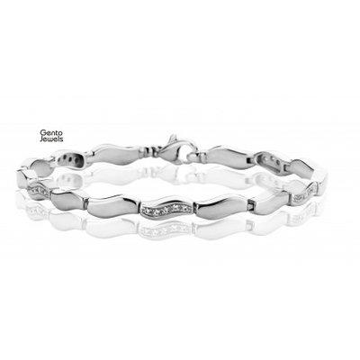 Gento Jewels Zilveren Armband EB157