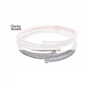 Gento Jewels Zilveren Armband EB15