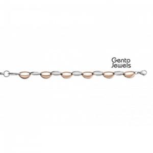 Gento Jewels Stalen Armband EB73