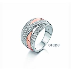 Orage Zilveren Ring AD077