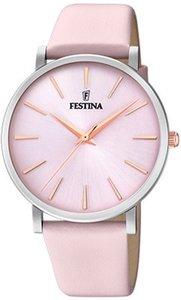 Festina Dameshorloge Boyfriend F20371/2 + GRATIS Armband en Juwelenbox